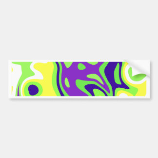 Abstractly samples bumper sticker