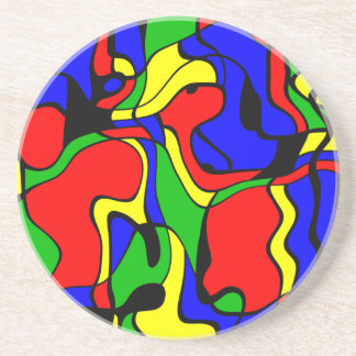 Abstractly samples coasters