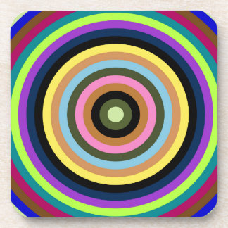 Abstractly samples drink coaster