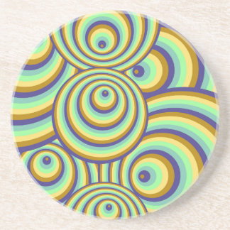 Abstractly samples drink coasters