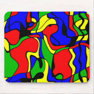Abstractly samples mouse pad