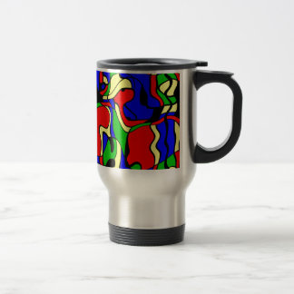Abstractly samples travel mug
