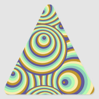 Abstractly samples triangle sticker