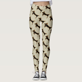 Abstracts Dachshund style, Leggings