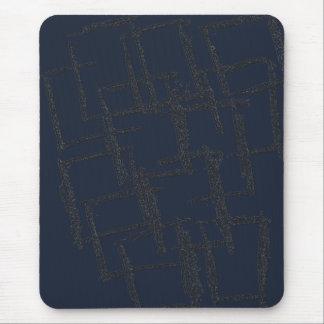 abstractsquaresphototransformersolarize tapis de souris