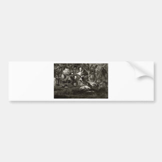 Absurdity funeral by Francisco Goya Bumper Sticker
