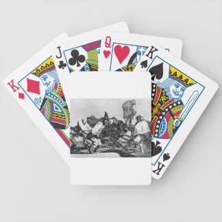 Absurdity of Carnival by Francisco Goya Bicycle Playing Cards