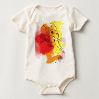 abtract Ganesha Paintings Baby Bodysuit