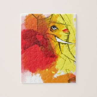 abtract Ganesha Paintings Puzzle
