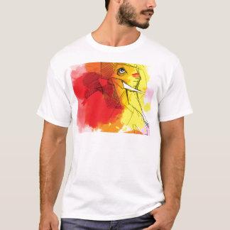 abtract Ganesha Paintings T-Shirt