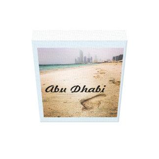 Abu Dhabi Corniche Poster Canvas Print