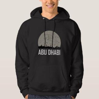 Abu Dhabi Full Moon Skyline Hoodie