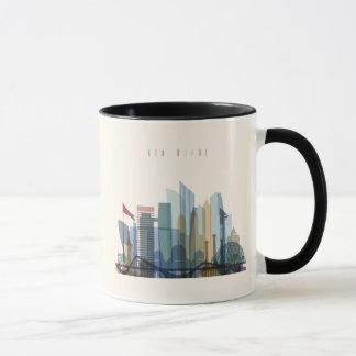 Abu Dhabi, United Arab Emirates | City Skyline Mug