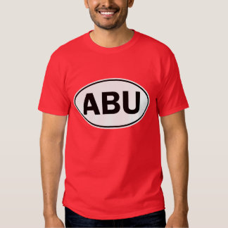 ABU Oval Identity Sign Shirt