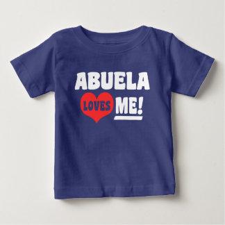 Abuela Loves Me Baby T-Shirt