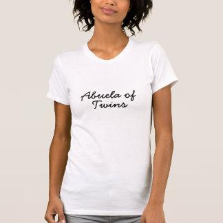 Abuela of Twins Tee Shirt