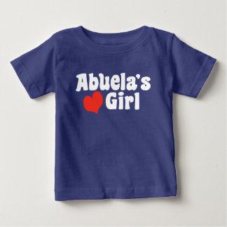 Abuela's Girl Baby T-Shirt