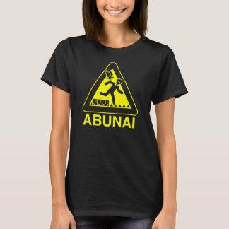 Abunai Shirt, Black T-Shirt