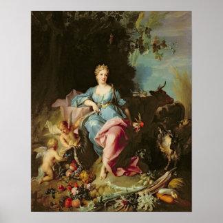 Abundance, 1719 poster