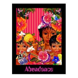 Abundance Postcard