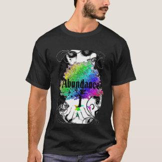 Abundance Rainbow Butterfly Tree Black Tshirt