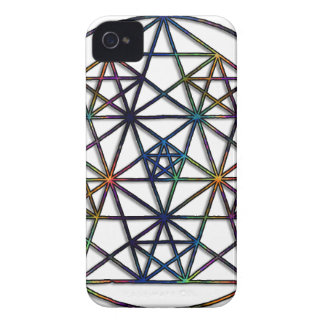 Abundance Sacred Geometry Fractal of Life Case-Mate iPhone 4 Cases