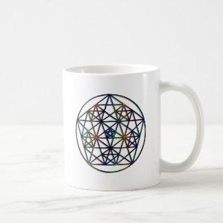 Abundance Sacred Geometry Fractal of Life Coffee Mug