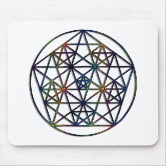 Abundance Sacred Geometry Fractal of Life Mouse Pad