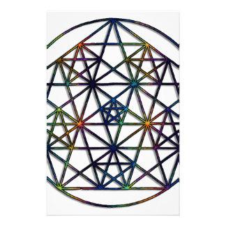 Abundance Sacred Geometry Fractal of Life Stationery