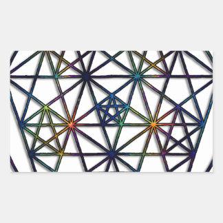 Abundance Sacred Geometry Fractal of Life Sticker
