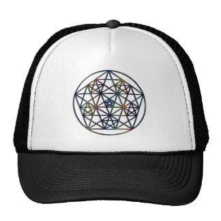 Abundance Sacred Geometry Fractal of Life Trucker Hat