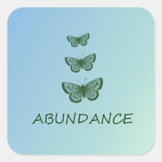 Abundance Square Sticker