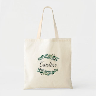 Abundant Foliage Personalized Tote Bag