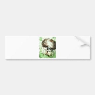 Abundant Greens2maya Bumper Sticker