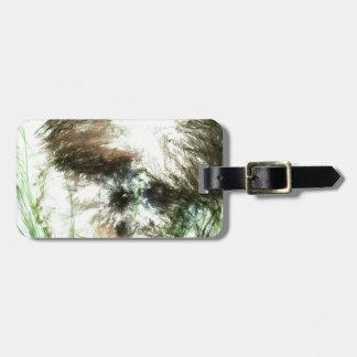 Abundant Greens2maya Luggage Tag