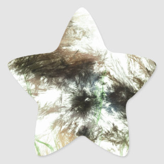 Abundant Greens2maya Star Sticker