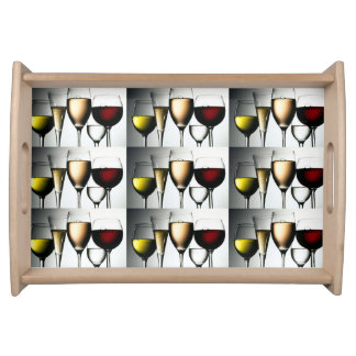 **ABUNDANT WINE** SERVING AND PARTY TRAY