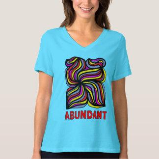 """""""Abundant"""" Women's Relaxed Fit V-Neck T-Shirt"""