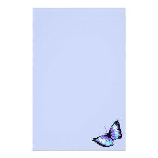 """Abyss"" (Blue Butterfly) Stationery"