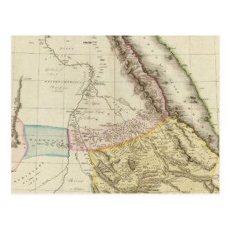 Abyssinia, Nubia &c Postcard