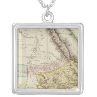 Abyssinia, Nubia &c Square Pendant Necklace