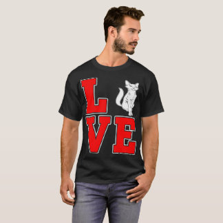 Abyssinian Cat Pets Love Gift Tshirt