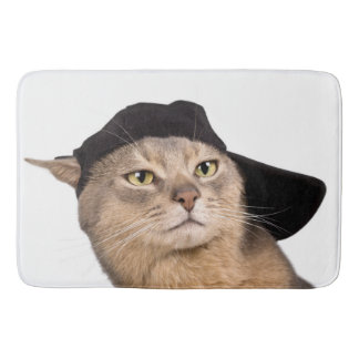 Abyssinian Cool Cap Cat Bath Mat