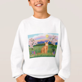 Abyssinian (red 18) - Blossoms Sweatshirt