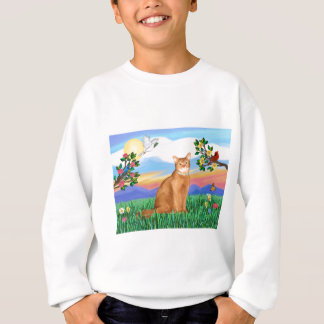 Abyssinian (red 18) - Bright Life Sweatshirt