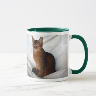 Abyssinian Ruddy Female Cat Mug