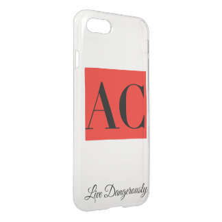 AC Clothing Logo and Motto iPhone Case
