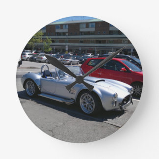 AC Cobra Replica Round Clock