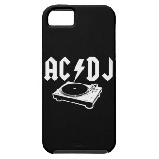 AC DJ iPhone 5 COVER