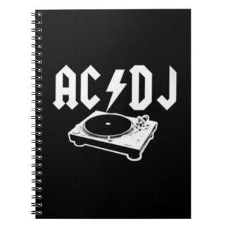 AC DJ NOTE BOOK